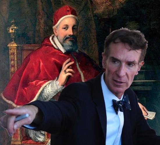 Glenn Beck Attacks Bill Nye for Being Like Galileo's Persecutors