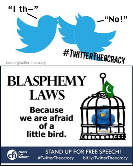 Making #TwitterTheocracy about Pakistan and Blasphemy Laws