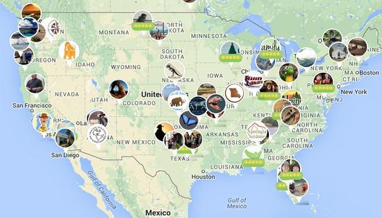Here S A Map Of Every Creationist Museum In The United States