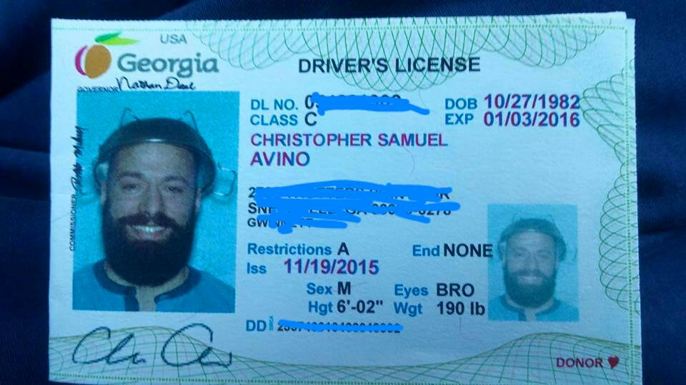 georgia pastafarian will have to retake driver's license photo