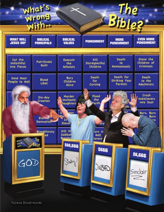 Jeopardy cartoon