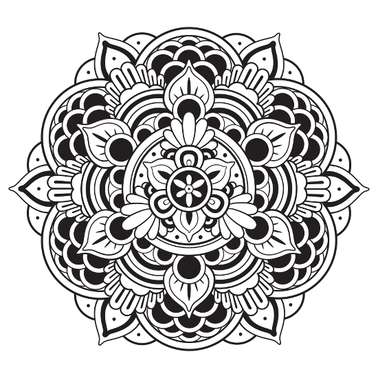 Christian Blogger: Adult Coloring Books With Mandalas Open The Door To  Demons Hemant Mehta Friendly Atheist Patheos