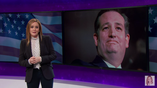 Samantha Bee Examines the Other Scary Religious Fanatics on Ted Cruz's Campaign Team