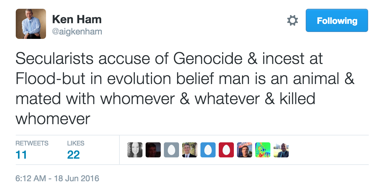 Hamtweetgenocide