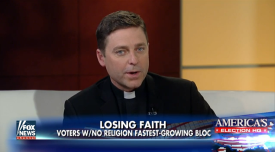 Fox News' Father Jonathan Morris is Quitting the Priesthood So He Can Have Sex