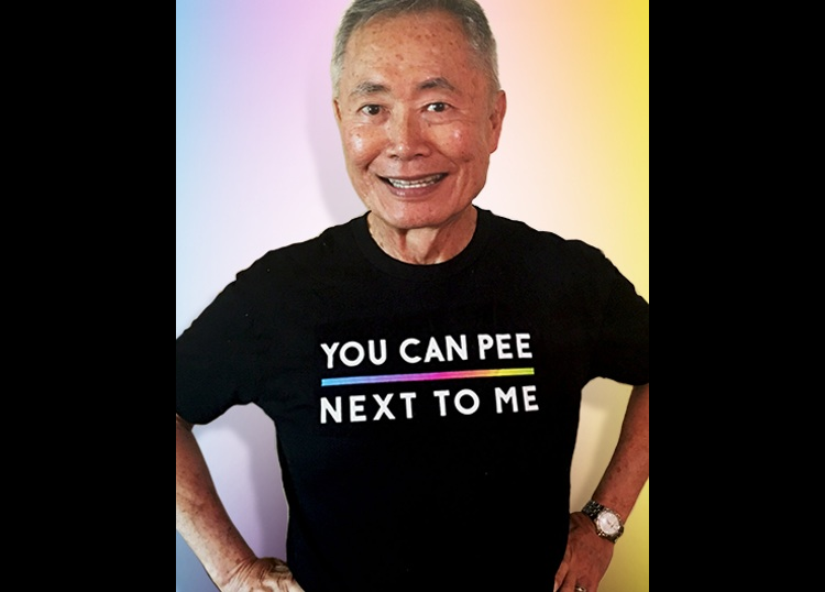 George Takei Will Proudly Pee Next To Trans People