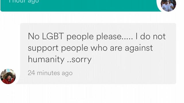 Airbnb Host Cancels Gay Man's Booking Because LGBT People Are