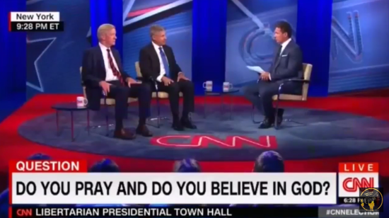 Why is CNN Asking Presidential Candidates with Undeclared Faiths If They Believe in God?