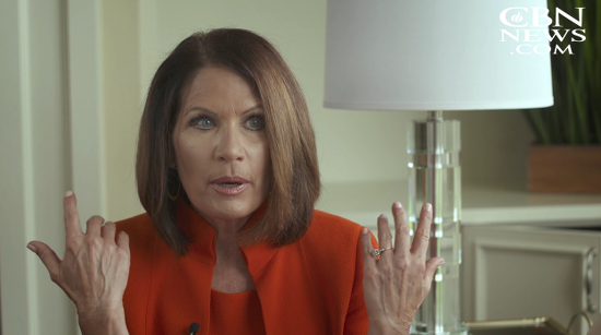 """Michele Bachmann: Trump is the Most """"Godly, Biblical"""" President We"""