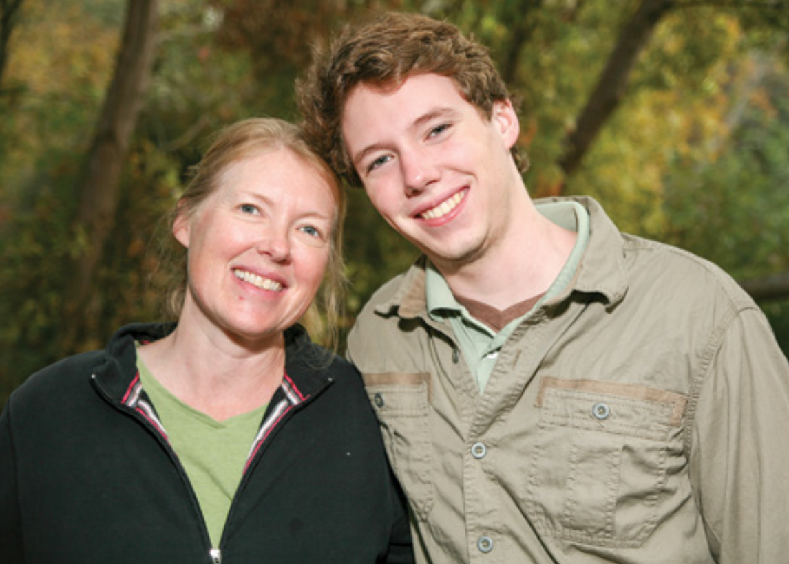 Julie Stahl and her son Jackson