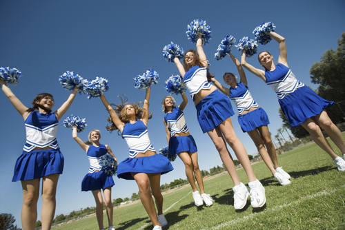 """A Male Student in Utah Complained That Cheerleaders' Skirts Caused Him to Have """"Impure"""" Thoughts"""