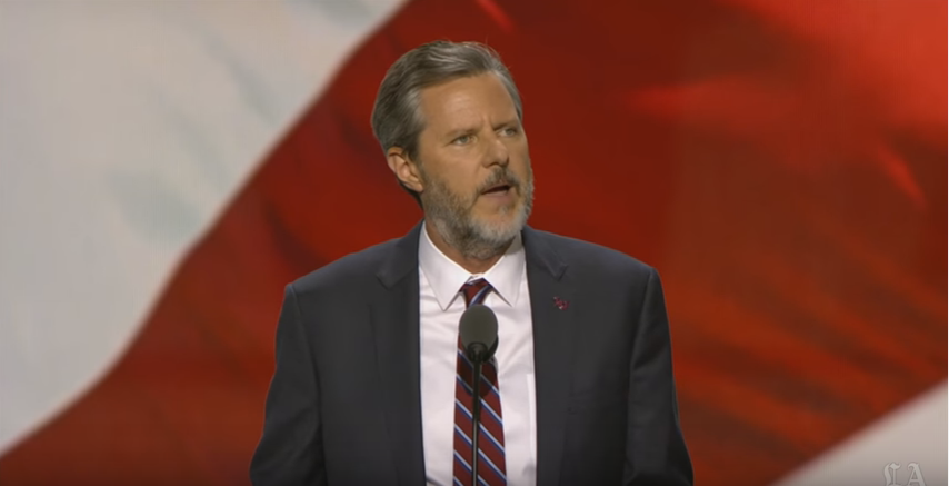 Jerry Falwell, Jr. Doesn't Really Care If Donald Trump Sexually Assaulted Some Ladies