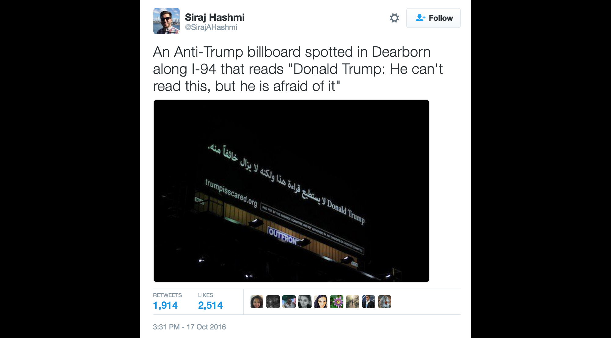 TrumpArabicBillboard