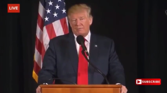 Donald Trump to Veterans (In Short): We Need More Christian Privilege, Equality is Too PC