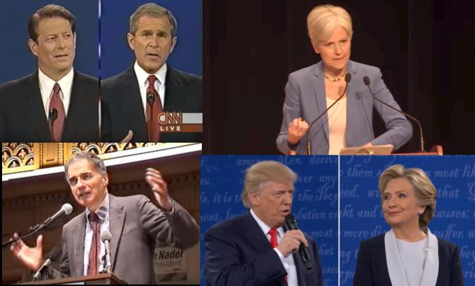 The Green Party Openly Preferred George W. Bush in 2000 and Openly Prefers Donald Trump Now​