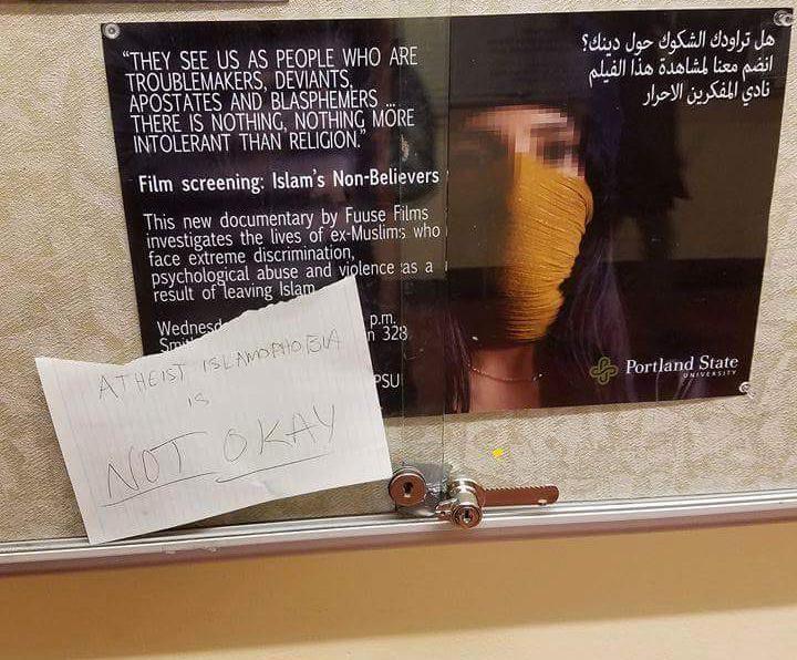 IslamophobiaAtheistPSU