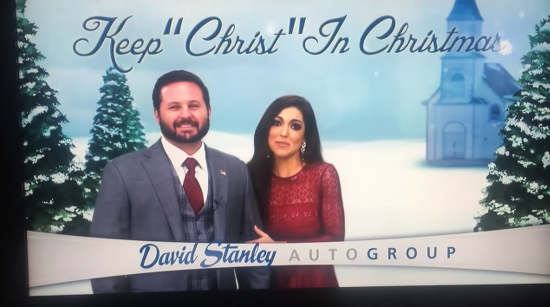 David Stanley Okc >> The Christian Persecution Card Is Used To Sell Cars In