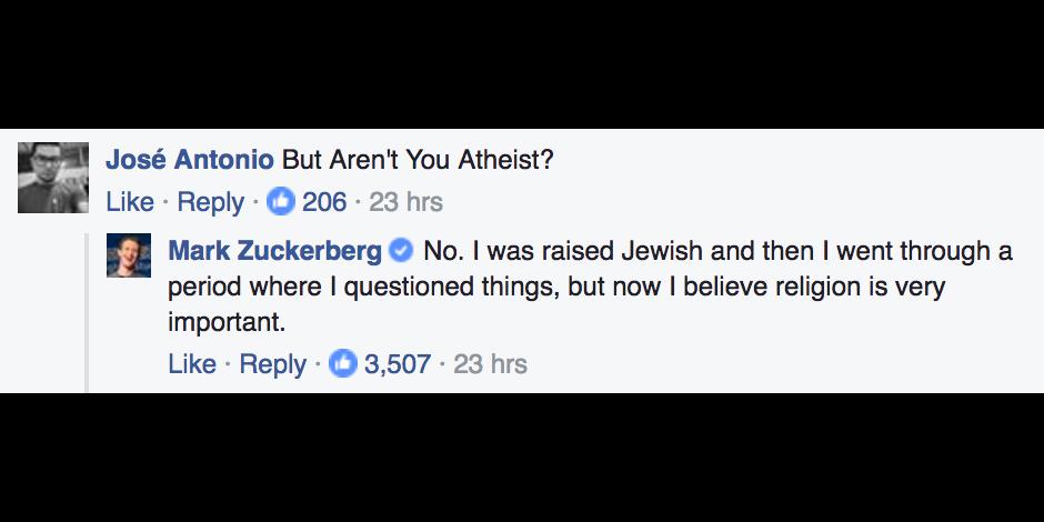 ZuckerbergAtheist