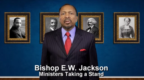 "E.W. Jackson: ""The Rainbow Flag Is No Different Than the Confederate Flag"""