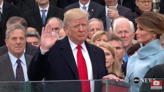 TrumpSwearingIn