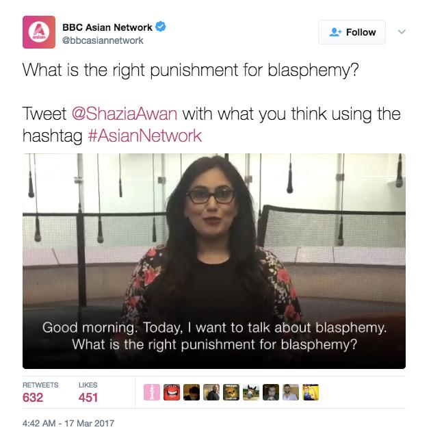BBCAsianBlasphemy