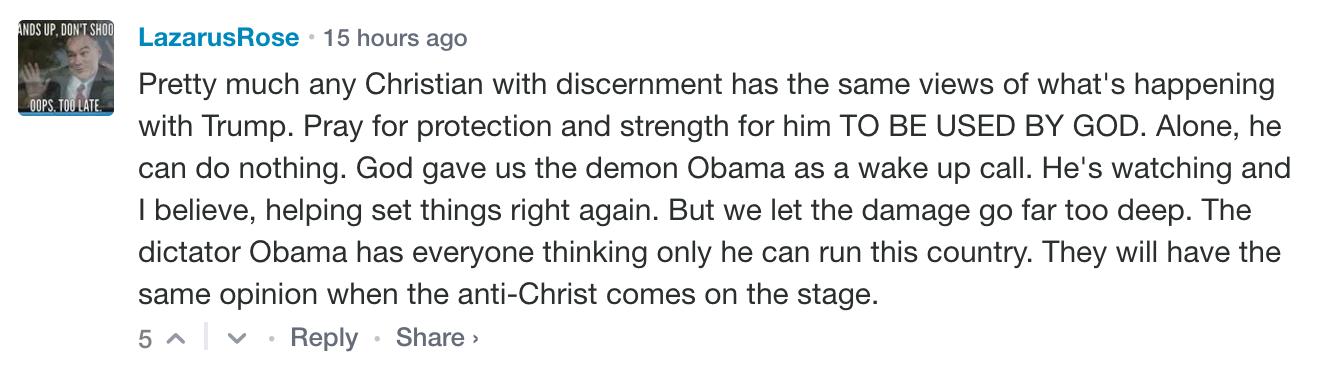 ObamaActualDemon