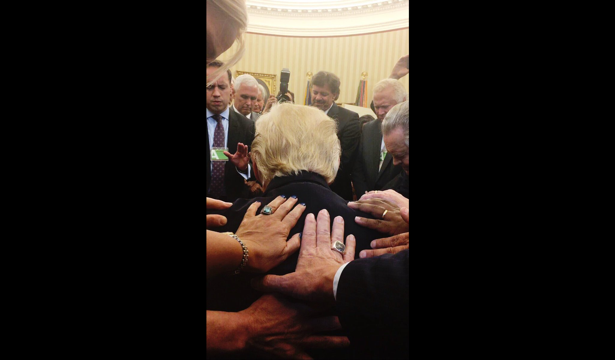 Trump's Oval Office Prayer Points to More Power for Preachers