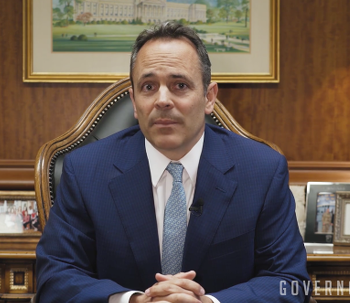 Kentucky's Anti-Vaxxer Governor Says He Let His Kids Catch Chickenpox on Purpose