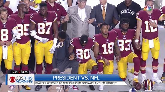 NFLProtestKneeling