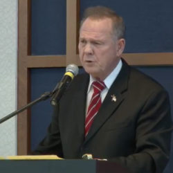 37% of Evangelicals Are More Likely to Back Roy Moore After Assault Allegations