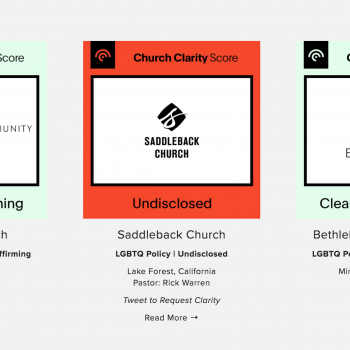 New Website Clarifies Where Various Christian Churches Stand on Homosexuality