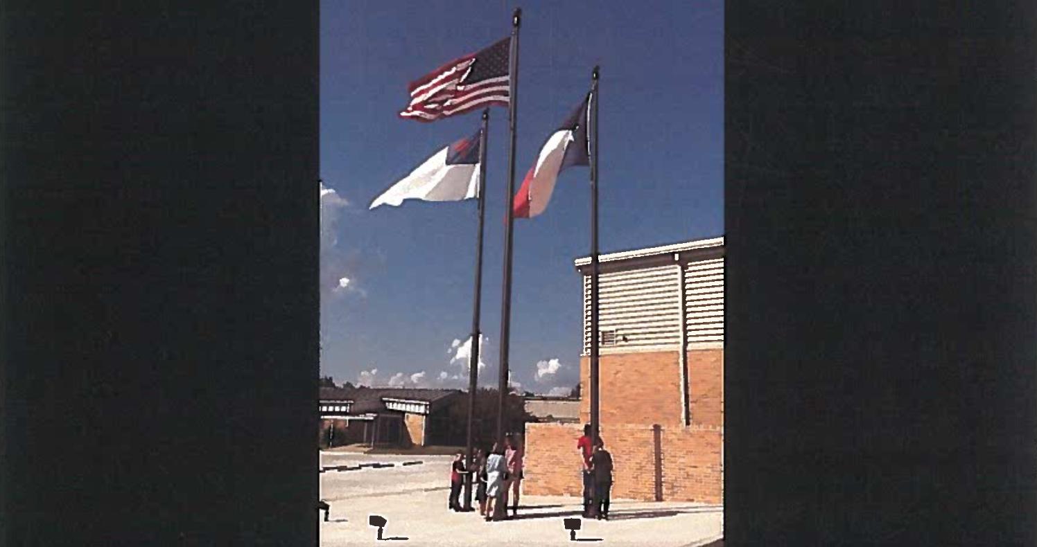LaPoynorISDChristianFlag