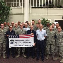 """Air Force Atheists in Texas Meet Weekly During """"Religious Services"""""""