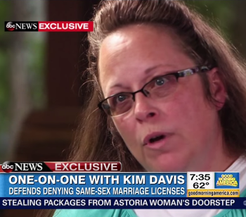 After Election Loss, Anti-Gay KY Clerk Kim Davis Will Pursue Christian Ministry