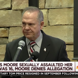 """Why Do """"Decent"""" Christians Support the Toxic Roy Moore?"""