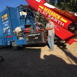 Flat-Earther Plans New Homemade Rocket Launch After Failed First Attempt