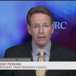 "After First Calling COVID-19 Fear ""Irrational,"" Tony Perkins Finally Backtracks"