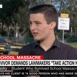 Parkland Survivor: GOP Ignores Mass Shootings But Not Gay Wedding Cakes