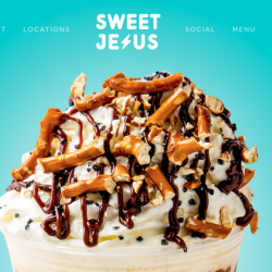 "Christian Snowflakes Melt Over Sweet Jesus Ice Cream Shop's ""Offensive"" Name"