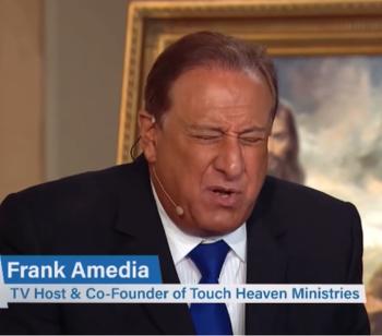 "Televangelist Frank Amedia: Trump's Impeachment Was a ""Political Abortion"""
