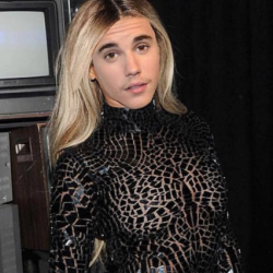 A Picture of Justin Bieber in a Dress Has This Christian Critic All Confused