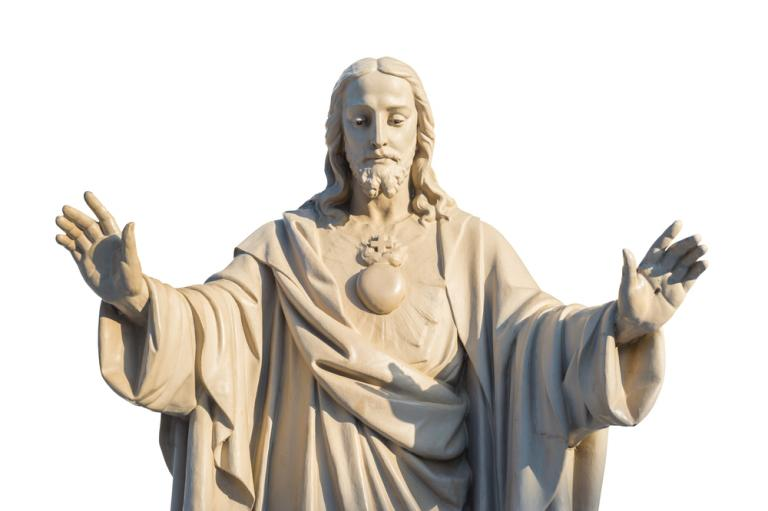 "Baptist Church Votes to Remove 7-Ft  Jesus Statue Because It's ""Too"