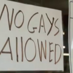 """Tennessee Hardware Store Owner Puts Up """"No Gays Allowed"""" Sign… Again"""