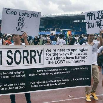 "Why Christians Shouldn't Say ""I'm Sorry"" at Gay Pride Parades"