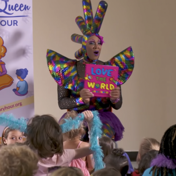 """Library's """"Drag Queen Story Time"""" Event Shut Down After Lawsuit from Christians"""