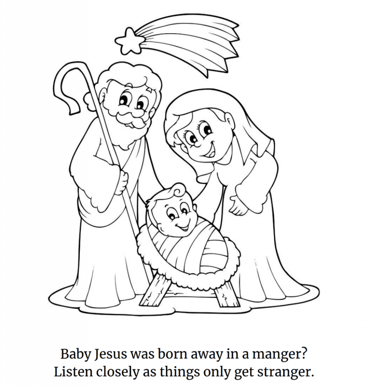 "The ""Atheist Christmas Coloring Book"" Tells the True Story ..."