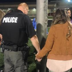 """Indiana Atheists Catch Cop and Teacher at School's """"See You at the Pole"""" Event"""