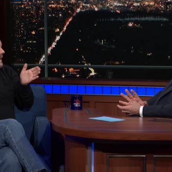 Ricky Gervais Told Stephen Colbert Why, as an Atheist, He Doesn't Fear Death
