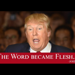 Pre-Election Billboard Ads Portray Donald Trump as Second Coming of Jesus