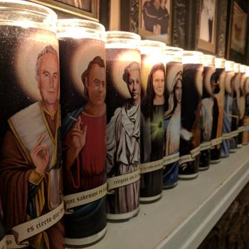 """Get These """"Saints of Science"""" Prayer Candles Before They Run Out"""